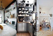 nápady malý prostor v bytě