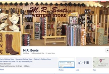 Facebook Pages / This is our Facebook page: https://www.facebook.com/pages/MR-Boots/283506248353193