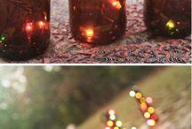 bottles & lights