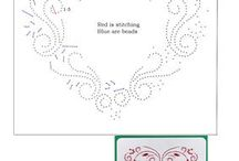 Haft matematyczny - ślub, walentynki