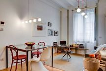 COZY APARTMENT IN MILAN / A cozy fresh apartment in central Milan by Nomade Architettura http://www.nomadearchitettura.com/#all