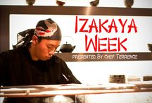 Izakaya / Japanese inspired entertainment items.