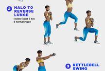 Kettlebal oefeningen