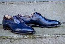Branchini Shoes / Fine and Rugged Footwear.  Italian and England custom made shoes. High end spectator shoes.