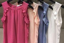 blusas e acessórios