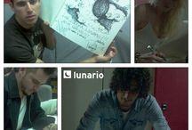 """""""El Libro"""" de Lunario del Auditorio / En El Libro firman todos los artistas que han visitado el Lunario del Auditorio."""