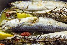balık ve yan lezzetler