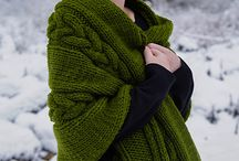 Scarves, cowls and shawls