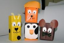 Box craft idea / this page has a lot of free easy Box craft idea for kids,parents and preschool teachers.