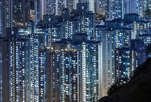 Painel Imagético - Urbano industrial - Blade Runner
