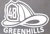 First Responders / Fire, Medics, and Police.  High quality stickers and decals.