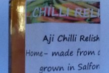 Chilli Relish / Chilli relishes made from chillies grown from seed in Salford, England.  Visit us on www.chillirelish.co.uk