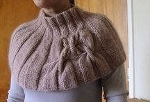 KNITTING CAPES