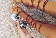 Sandałki letnie