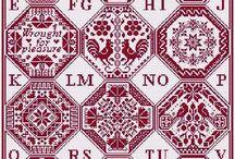 You can do it - cross stitch / ❈ ❈ Finished cross stitch embroidery work, patterns, ideas ❈ ❈ ❈ ❈ Keresztszemes hímzéshez kész munkák, minták, ötletek ❈ ❈ ❈ Thank you for following me!! ❈