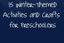 Seasons :: Winter / Winter themed crafts for adults and kids. Printables, learning ideas, and activities for all ages.