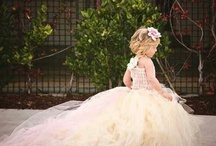 For the mini bride and groom