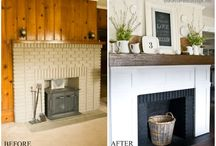 Fire place fix up / by Shannon Parazoo-Green