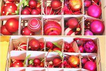 Ordnungsliebe - Weihnachten / Weihnachtskugeln und Geschenkpapier verstauen - hier gibt es Tipps und Ideen