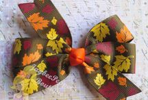 Fall and Thanksgiving Decorating Ideas / Ribbon will add something special to your Thanksgiving decor, table settings, fashion and much more! Explore our Thanksgiving board for a wide array of Thanksgiving craft ideas featuring ribbon.