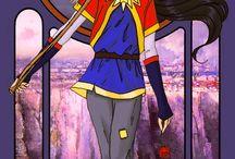 Sailor Moon kártyák