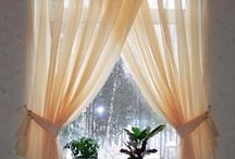 Hall Curtains & Decor