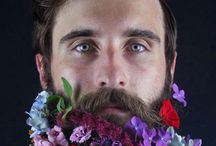 flowered beard
