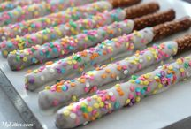 Easter treats / Easter pretzel rods