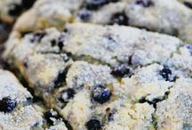 Blue ber scones / Blu ber scones