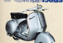 Old Vespa / Vespa yesterday...
