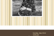 Baby Shower Invitations / by metrobabycards