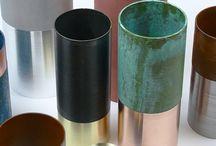 VESSELS WE LOVE / Ceramics and metallic vessels.