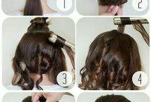 Hair updo tutorial