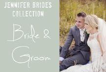 Jennifer Brides : Bride and Groom