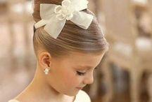 penteados de daminhas