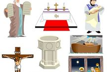 Biblical Clip Art Mega Bundle / Biblical Clip Art. You can use these images to teach Bible stories and truths to children in your private school, Christian preschool, children's Sunday school class or for personal use.