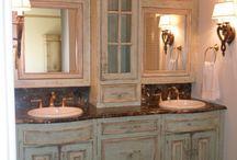 French bathroom decor