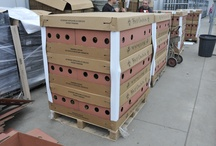 Stackables / Our Tres Chic Tropials from Florida ship in our innovative STACKABLES shipping box... high density, super strong, great ventilation and super easy to unload and merchandise!