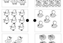 Free Printable Worksheets and coloring pages for Preschool and Kindergarten Kids / Cute worksheets and coloring pages for kindergarten and preschool kids. A treat for teachers and moms