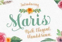 Design-Banners Fonts / by Susanne Bamberger