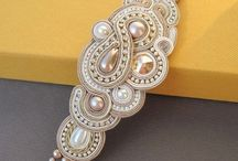 Soutache, beading embroidery