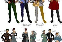 Romeo og Julie klær