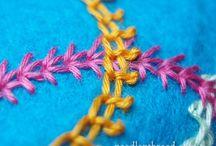 Brodera Stygn inspiration / Embroidery Stitch inspiration