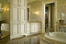 Bathroom Design Inspiration / bath design inspiration from fixtures to cabinets to showers and finishes