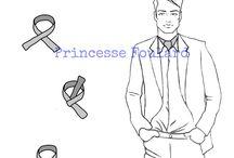 Nouer son foulard en col de chemise