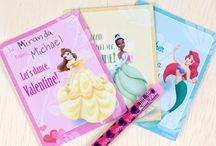Disney Valentine's Ideas / Celebrate Valentine's Day with crafts, food, recipes with a Disney theme