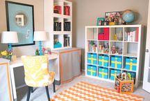 Office/playroom / by Mackenzie Stauffer