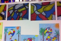 Arty ideas Piet Mondrian