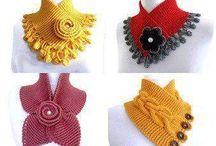 мини шарф