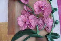 orchid storczyk quilling